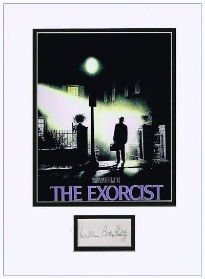 William Peter Blatty Autograph Signed The Exorcist